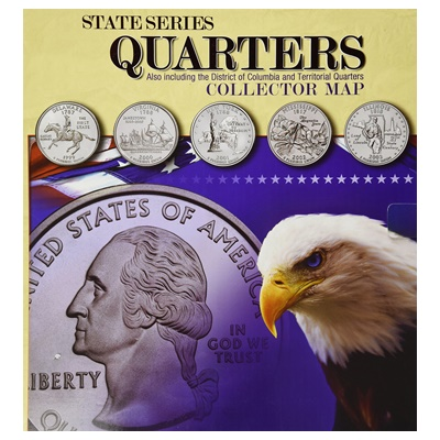 1999 - 2009 State Series Quarters Collection - Complete Set (D)